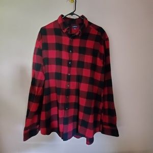 Croft and Barrow Red flannel